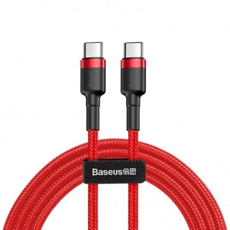 Baseus Cafule Cable USB-C PD 2.0 QC 3.0 60W 1m (Red)