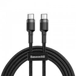 Baseus Cafule Cable USB-C PD 2.0 QC 3.0 60W 1m (Black+Gray)